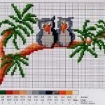 Kanaviçe Etamin Baykuş Şablonları 23