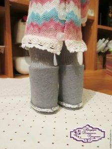 Oyuncak Bebek Ayakkabı Yapımı 9