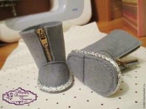 Oyuncak Bebek Ayakkabı Yapımı 17