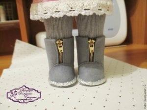 Oyuncak Bebek Ayakkabı Yapımı 3
