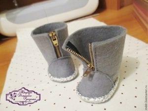 Oyuncak Bebek Ayakkabı Yapımı