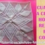Tığ İşi Battaniye Motifli Battaniye Modelleri Anlatımlı