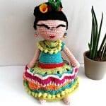 Amigurumi Frida Kahlo Modelleri 10