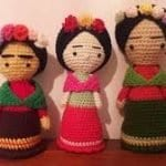 Amigurumi Frida Kahlo Modelleri 17