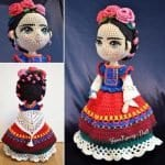 Amigurumi Frida Kahlo Modelleri 19