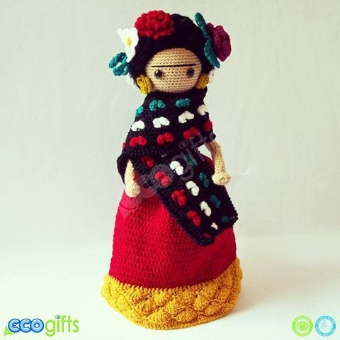 Amigurumi Frida Kahlo Modelleri 23