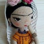 Amigurumi Frida Kahlo Modelleri 30