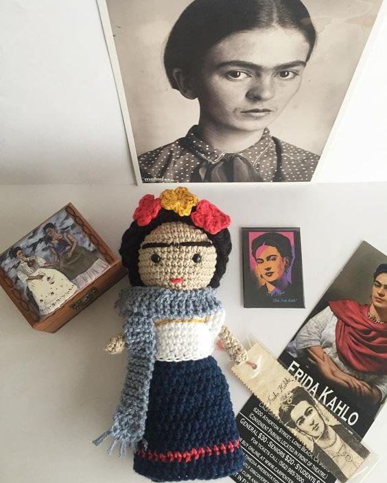 Amigurumi Frida Kahlo Modelleri 47