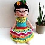 Amigurumi Frida Kahlo Modelleri 8