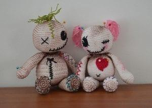 Amigurumi Voodoo Dolls