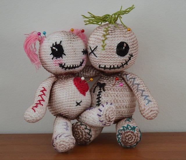 Кукла вуду своими руками в домашних 20