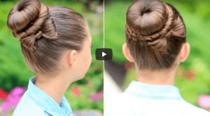 Çocuk Saç Topuz Modelleri