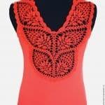 Dantelli Tişört Yapımı 4