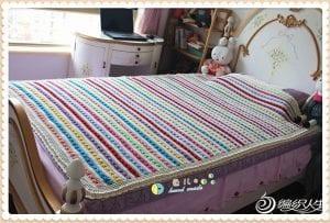 Kolay Battaniye Modelleri Yapılışı 4