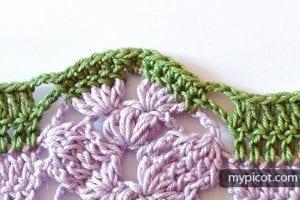 Sıralı Yapraklar Yelek Modeli Yapımı 6