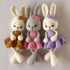 Amigurumi Yeni Yıl Tavşan Yapımı