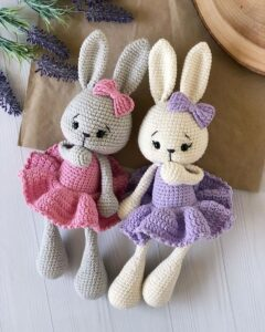 Amigurumi Yeni Yıl Tavşan Yapımı 16