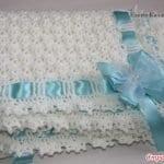 Battaniye Modelleri Örgü Bebek 3