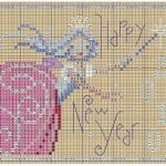 Kanaviçe Etamin Yeni Yıl Şablonları 16