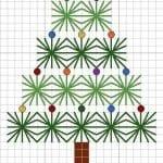 Kanaviçe Etamin Yeni Yıl Şablonları 32