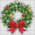 Kanaviçe Etamin Yeni Yıl Şablonları 44