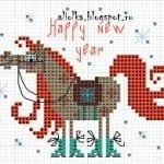 Kanaviçe Etamin Yeni Yıl Şablonları 4
