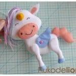Keçe Unicorn Yapılışı 33