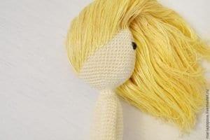 Oyuncak Bebek Saçı Yapımı 9