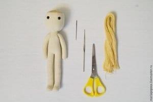 Oyuncak Bebek Saçı Yapımı