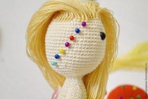 Oyuncak Bebek Saçı Yapımı 6
