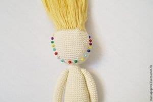 Oyuncak Bebek Saçı Yapımı 7