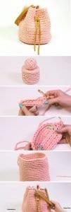 Penye İpten Çanta Yapımı 6