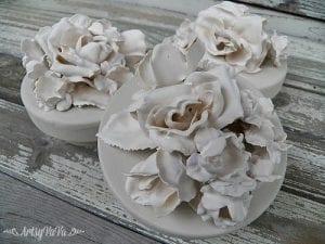 Alçı İle Porselen Çiçek Yapımı