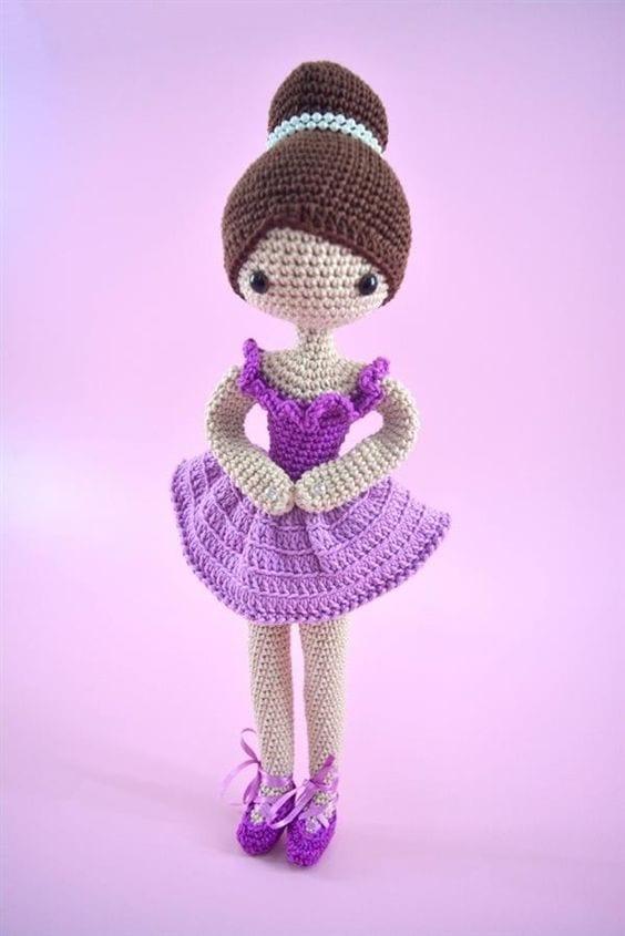 Amigurumi balerin bebek – 10marifet.org | 845x564