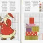 Kanaviçe İşleme Yeni Yıl Şablonları 29