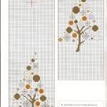 Kanaviçe İşleme Yeni Yıl Şablonları 33