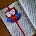Keçeden Baykuş Kitap Ayracı Yapımı 10