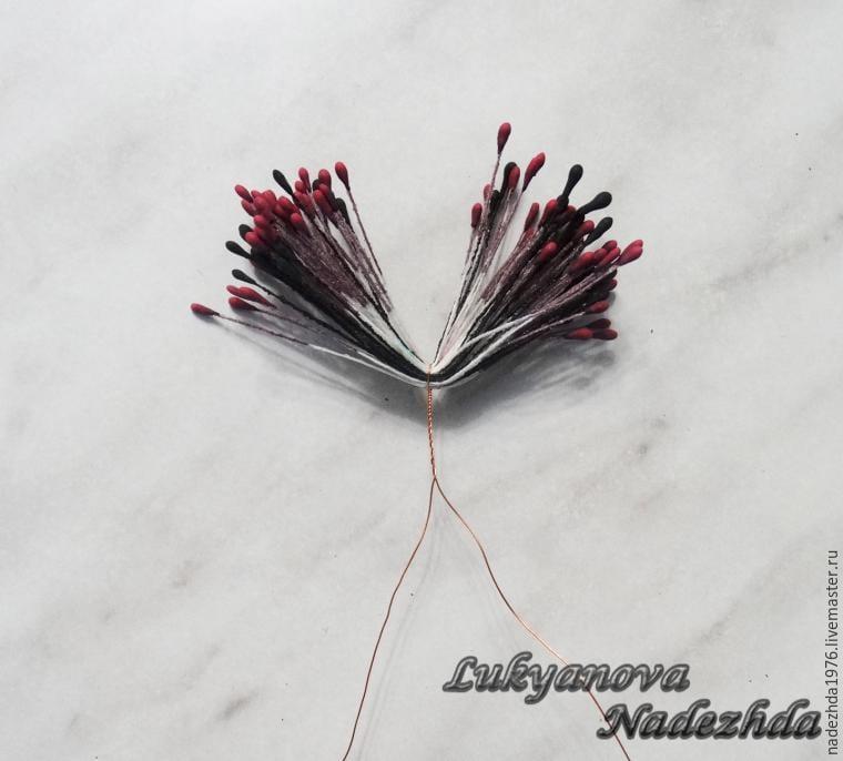 Yün Keçeden Çiçek Yapımı 16
