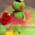 Amigurumi Balerin Kurbağa Yapımı 10