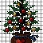 Etamin Çam Ağacı Şablonları 9