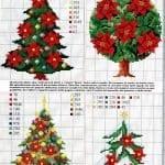 Etamin Çam Ağacı Şablonları 10