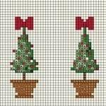 Etamin Çam Ağacı Şablonları 11
