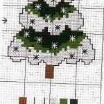 Etamin Çam Ağacı Şablonları 12