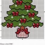 Etamin Çam Ağacı Şablonları 13