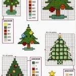 Etamin Çam Ağacı Şablonları 15