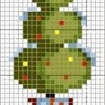 Etamin Çam Ağacı Şablonları 2
