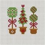 Etamin Çam Ağacı Şablonları 3