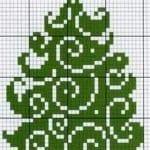 Etamin Çam Ağacı Şablonları 4