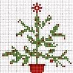Etamin Çam Ağacı Şablonları 5