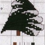 Etamin Çam Ağacı Şablonları 6